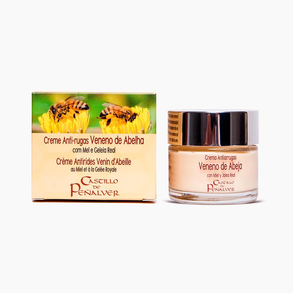 crema antiarrugas veneno abeja