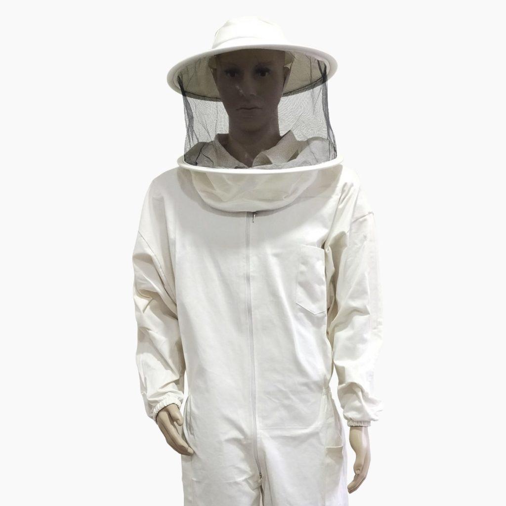 Buzo apicultor algodón