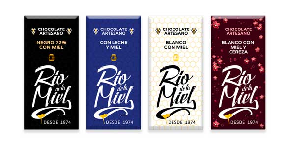 chocolates artesanos con miel 1
